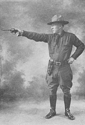 Major H L Harker Target Shooting Position Revolver