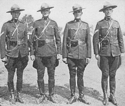 Royal Canadian Mounted Police at Camp Perry Matches