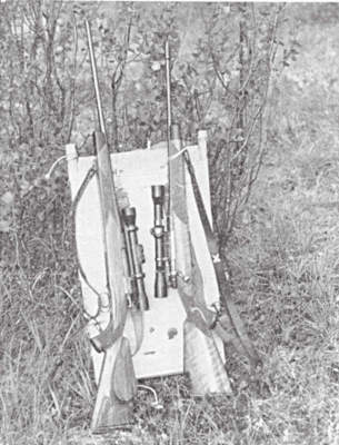 Rifles and Pack board suitable for Bighorn Sheep Hunting