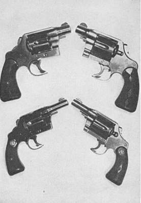 Specialized handguns for quick-draw work