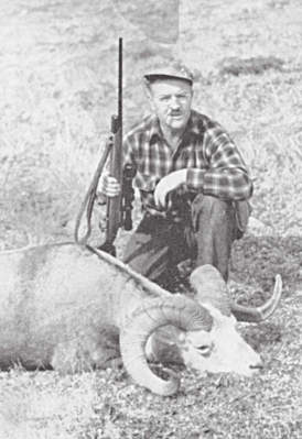 Trophy from Mountain Stone Sheep Hunting