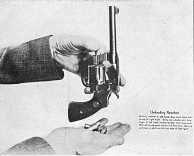 Unloading the Revolver Safely