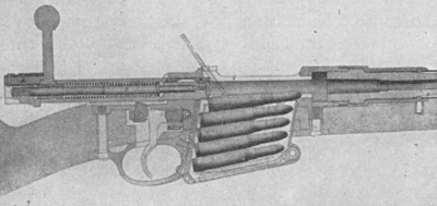 Belgian Mauser Model 89  phantom loaded