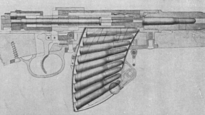 Belgian Mauser with 10 shot magazine