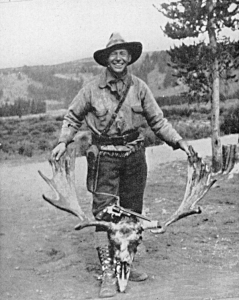 Douglas Wesson with Moose from 357 Magnum