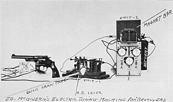 Ed McGivern electric timer