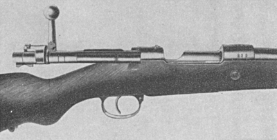 Mauser 98 action open