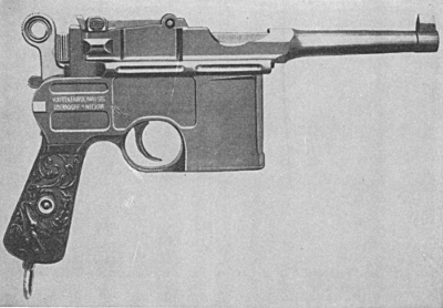 Mauser C96 automatic short barrel