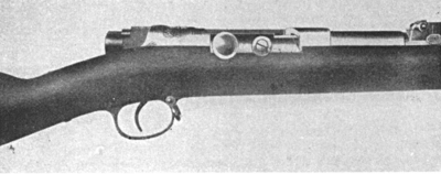Mauser Model 71-84 action closed