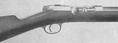 Mauser Model 78-80 action closed