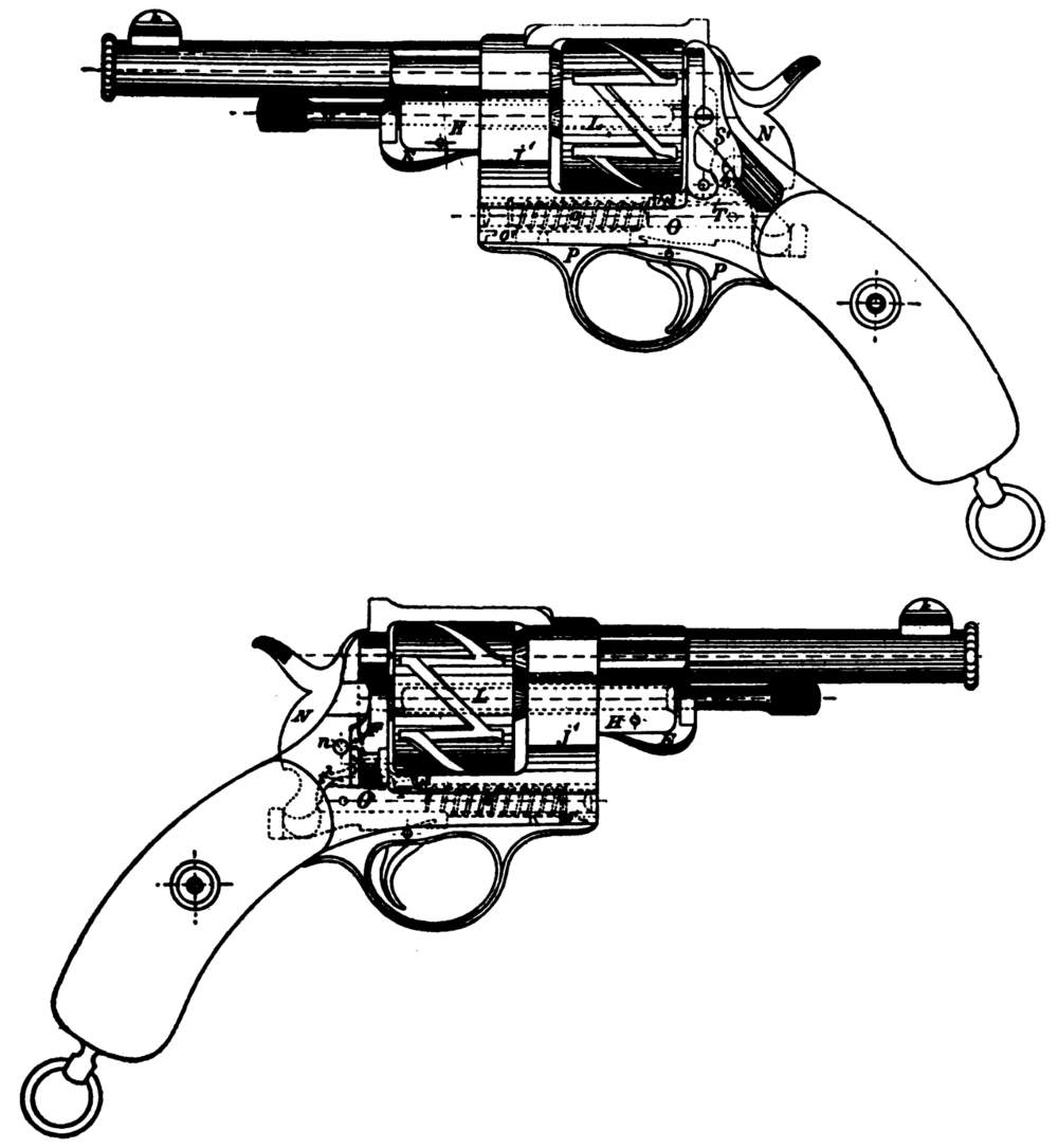 early mauser revolvers and pistols
