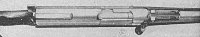 Model 1902 Mauser Semiautomatic top closed