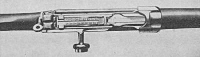Model 98 Semiautomatic Mauser top closed