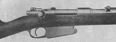 Turkish Mauser Model 90 action closed