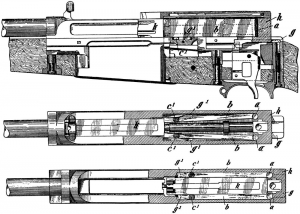 model 06-08 mauser semiautomatic detailed