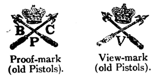 Proof And Armorers Marks The Book Of The Pistol