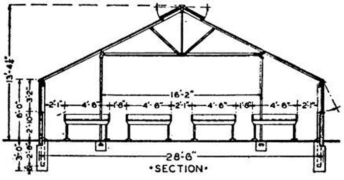 Standard Greenhouse section 3