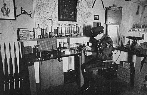 Inspecting Revolver for PA Highway Patrol