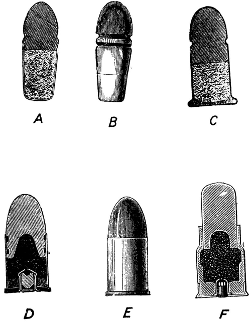early cartridges for revolvers