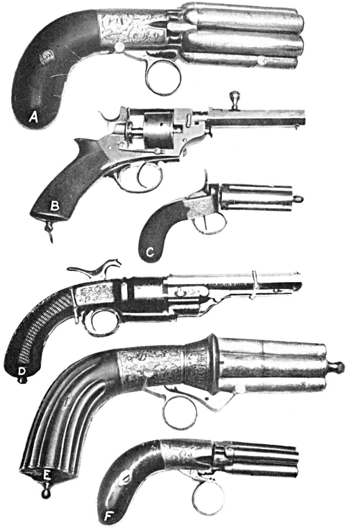 early revolver mechanism
