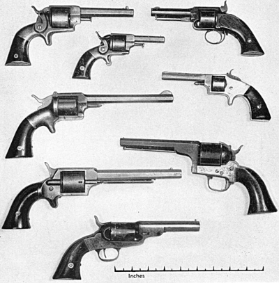 Competitors of the Smith & Wesson revolvers