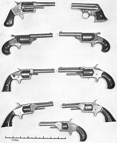 More competitors of the Smith & Wesson revolvers