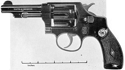 Smith & Wesosn 32 caliber hand ejector round butt