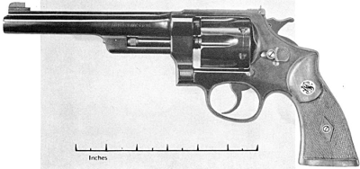Smith & Wesson 357 magnum 6.5 inch barrel