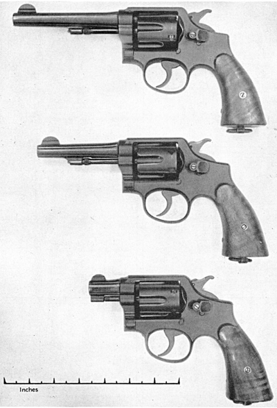 Smith & Wesson WWII revolvers