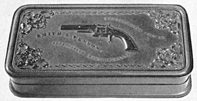 Smith & Wesson first and second model rubber case