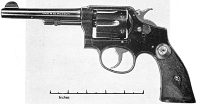 Smith & Wesson military and police 38 caliber 1905 second model