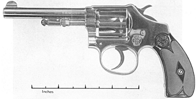 Smith & Wesson model 22 hand ejector second model