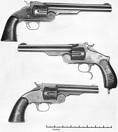 Smith & Wesson single action 44 American 44 Russian & 45 Schofield